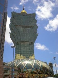 L'hôtel-casino : le Grand Lisboa, la simplicité à la chinoise...