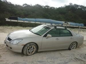 Notre voiture pour cette session de rallye =)